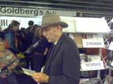Digte på BogForum 2007: Benny Pedersen læser op